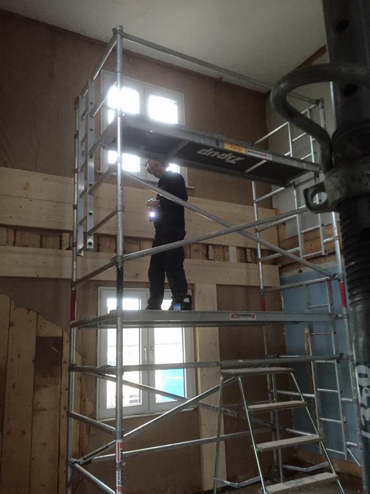 ROT - Renovering av privatbostad.